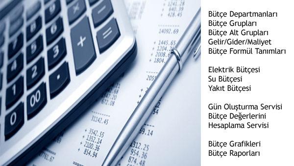 Bütçe Otomasyon Yazılımı